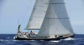 Choice of sailing yachts for charter
